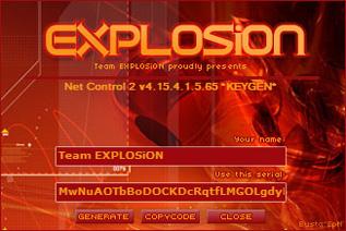 Net Control 2 4.15 注册机