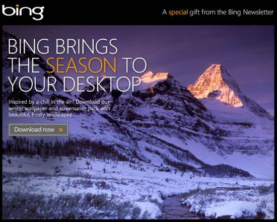 Bing Winter Pack