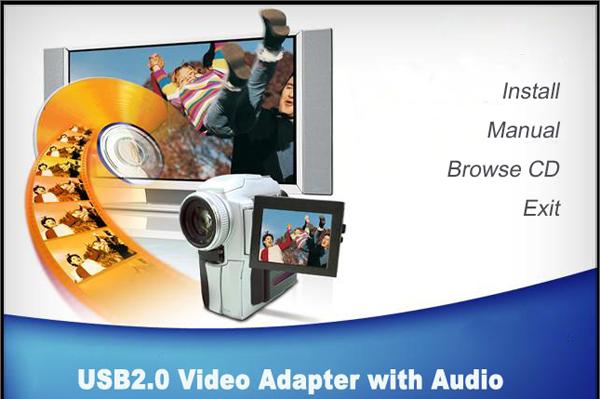 四路USB视频采集卡驱动软件