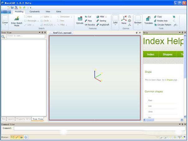 NaroCAD(三维制图软件)