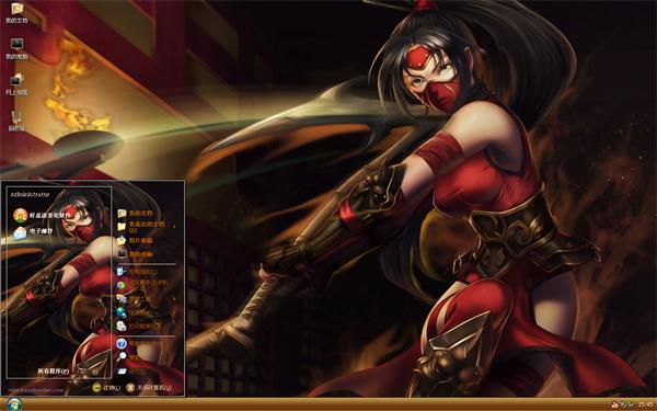 LOL官方之拳xp手绘性感主题游戏版安装图片古装暗影图片