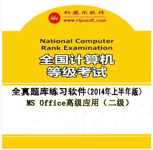 全国计算机等级考试全真模拟考试软件二级MS Office高级