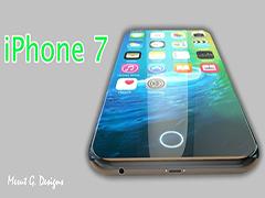 苹果iPhone7概念设计曝光:取消实体home键