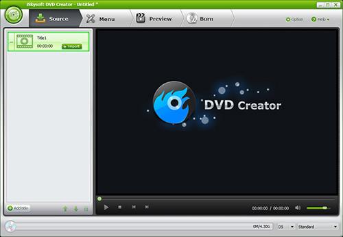 iSkysoft DVD Creator(dvd刻录软件)