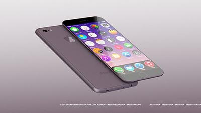 苹果7代手机图片 摄像头方面,iPhone7 像素数将增至 1200 万,光学防抖、4K 录制是必须的,还要支持高达 500fps 的录像能力。Yasser Farahi 还为 iPhone7 加入了立体声效和无线充电功能,以及图标全部正圆化的 iOS9。
