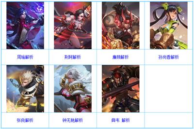王者荣耀1月4日-10日限免英雄名单