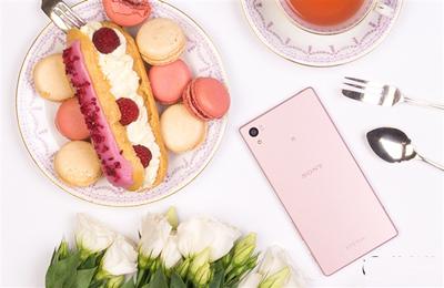 粉色版索尼Xperia Z5