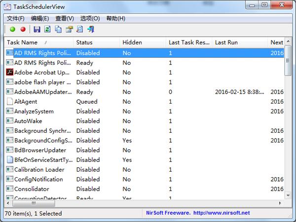 TaskSchedulerView
