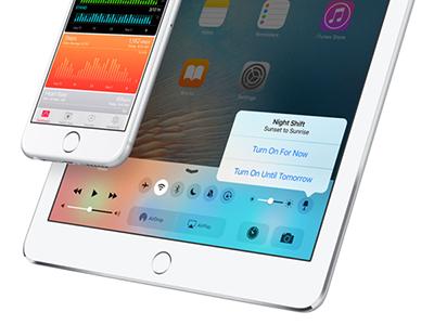苹果iOS9.3 Beta4更新内容汇总