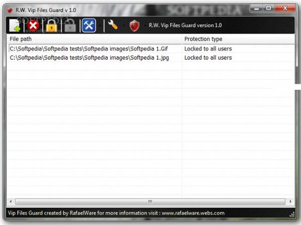 R.W. Vip Files Guard(敏感文件加密保护) 1.0 正式安装版