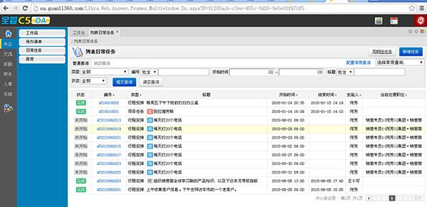 全管C5-OA协同办公系统