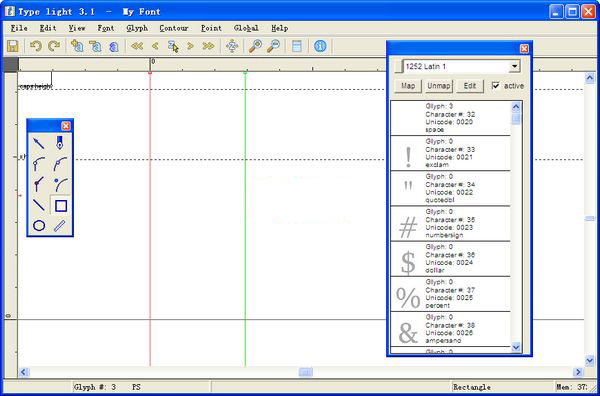 字体设计工具(Type light)