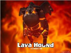 部落冲突新兵种流出 传奇A4卡Lave Hound