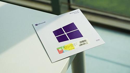Win10专业版激活密钥实体卡曝光:专业密钥只