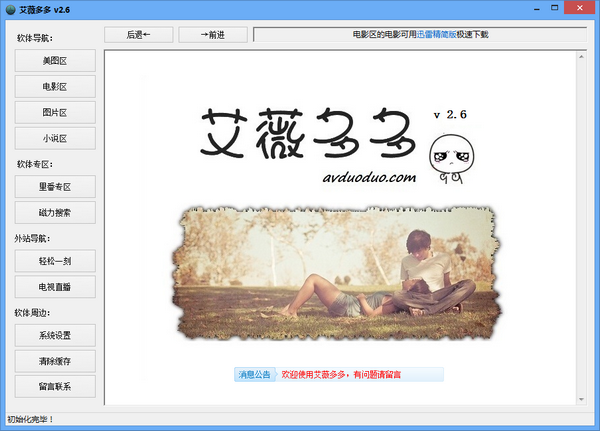 艾微多多浏览器 2.6 绿色版