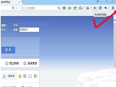 QQ浏览器关闭网页声音步骤
