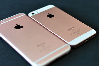 iPhone SE和iPhone6s对比