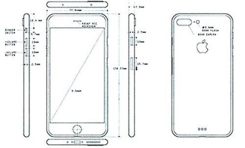 疑似iphone 7 pro 设计图曝光:耳机孔没了