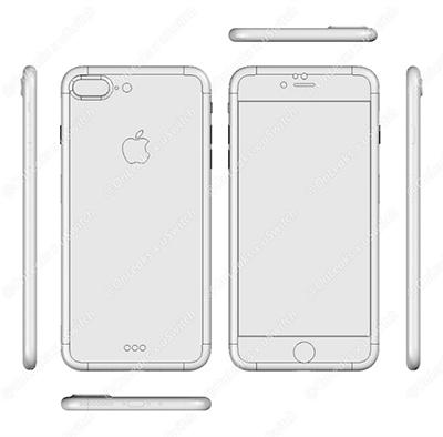iphone7与iphone7 plus设计图曝光:网友看完很失望