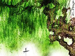 用ps滤镜绘制春天气息的水彩画