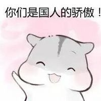 hamham仓鼠为中国队加油表情包图片