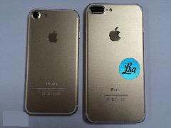苹果iPhone7/Plus金色版真机曝光:有双摄像头