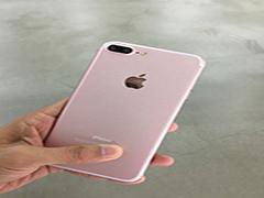iPhone7 Plus玫瑰金曝光:双摄确认