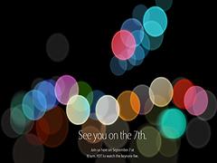 iPhone7来了!苹果秋季发布会2016邀请函曝光