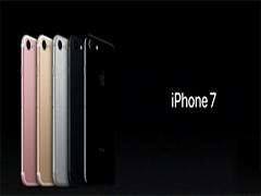 iPhone7发布!黑色双摄像头防水防尘