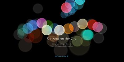 2016苹果秋季发布会