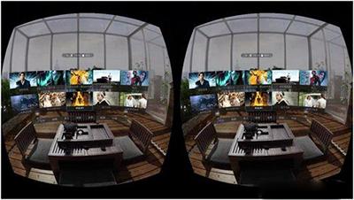 vr虚拟现实   全景视频内容也比较丰富
