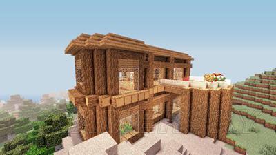 我的世界建筑物漂亮别墅建造图介绍