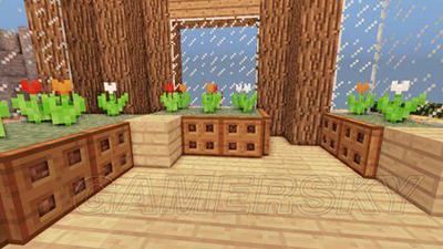 下面看我的世界豪华别墅二楼以及厕所图解:     小卧室   2楼客厅