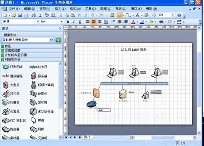 visio2007教程:防止主题影响形状