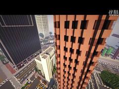 画风萌萌哒!侠盗猎车手5与我的世界合体视频欣赏