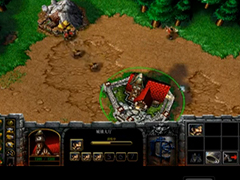 魔兽争霸3冰封王座人族塔对战兽族视频攻略