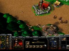 魔兽争霸3冰封王座人族塔对战人族视频攻略