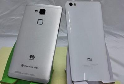 最近,小米和华为纷纷发布了最新款的手机:小米note2和华为mate9