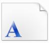 金桥繁隶书字体