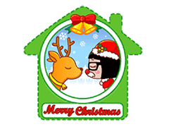 微信圣诞节快乐表情包gif动态图(13P)