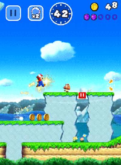 超级马里奥跑酷跳跃