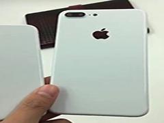 亮白色iphone7真机谍照曝光:洁白无瑕