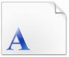 文鼎齿轮体字体