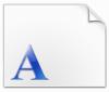 文鼎明体字体
