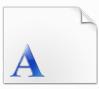 文鼎琥珀繁字体