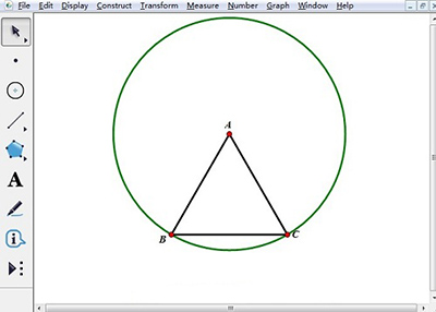 几何画板画莱洛三角形图文步骤