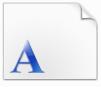 文鼎弹簧体字体