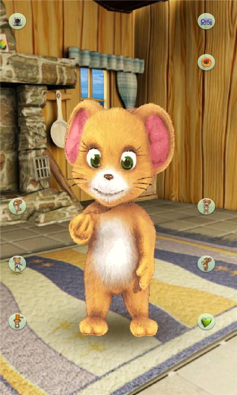 这是一只非常调皮的小老鼠.