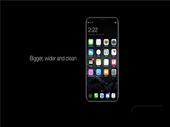 苹果iPhone8概念机设计曝光:更加简洁