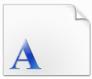微软繁线体字体
